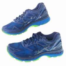 Asics Mens 7 GEL-Nimbus 19 Blue NEW Running Shoes T7C3N 4943 Light Show