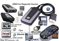 WOW Snooper V5.008 R2 Software Bluetooth Diagnostic Tool for Cars Truck Generic