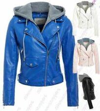 Manteaux et vestes cuir pour femme