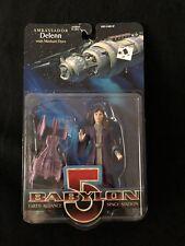 Babylon 5 Delenn Action Figure New in Box with Minbar Flyer Female Ambassador