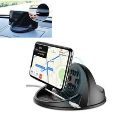 10W QI Wireless Charger Car Mount Dashboard Phone Holder Pad For Samsung/iphone