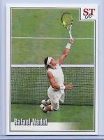 RAFAEL NADAL 2008 WIMBLEDON VS. FEDERER SPOTLIGHT TRIBUTE TENNIS CARD! 1 of 9!