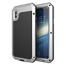 Waterproof Shockproof Metal Aluminum Gorilla Case For iPhone 5 SE 6 7 8 Plus X