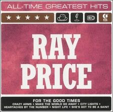 All-Time Greatest Hits [K-Tel] by Ray Price (CD, Nov-2001, K-Tel Distribution)