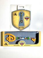 Disney Store PLUTO 90th Anniversary Key & Pin Limited Edition- In Hand Fast Ship