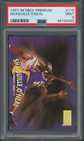 1997 Skybox Premium Shaquille O'neal #116 Lakers Card PSA 9 (48120290)