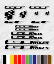 GT Die-cut Decal Sticker sheet (cycling, mtb, bmx, bike, frame) - V3