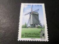 FRANCE 2010, timbre 4489, MOULIN DE VILLENEUVE D ASCQ, neuf** ARCHITECTURE, MNH