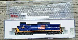 "ATLAS 1/160 N SCALE CSX "" SPIRIT OF AMERICA "" DASH 8-40CW RD #7812 DCC 51977 NIB"