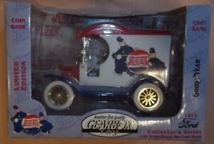 NIB Gearbox Limited Edition 1912 Ford Delivery Diecast Metal Car Pepsi Cola 1:24