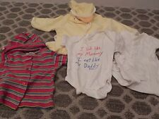NEWBORN 5 Pieces Little Me Yellow Duck Bathrobe, Zutano Cardigan & Cap, 1 Piece