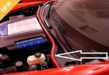 2005-2007 C6 Corvette Colored Red Underhood Weatherstripping Kit