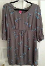 Joules Scoop Neck 3/4 Sleeve Tunic Dresses for Women