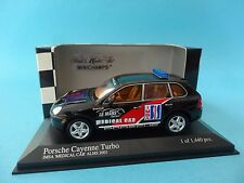 PORSCHE CAYENNE TURBO - IMSA MEDICAL CAR ALMS 2003 1/43 NEW MINICHAMPS 400061082