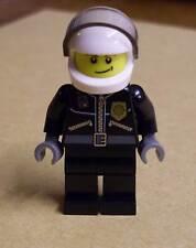 Lego Figur Polizist Polizei Figuren mit Helm Helikopter Pilot City Town Neu