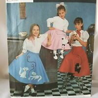 """TO THE HOP~1950/'s OUTFIT~BARB /& DOUG KEELING~poodle skirt~sweater for 17/"""" dolls"""