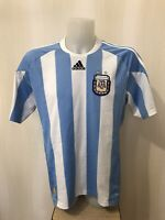 Argentina 2010/2011 home Sz L Adidas shirt jersey maillot football soccer maglia