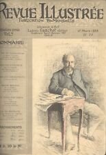 REVUE ILLUSTREE - Publication Bi-Mensuelle 15 Mars 1888 - 1890.