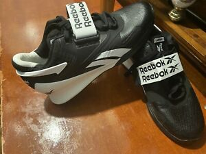Reebok Legacy Lifter 2  - Weightlifting Shoes - Black & White Size UK 6
