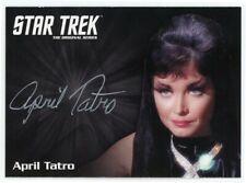 2020 Star Trek Tos Archives & Inscriptions April Tatro Silver Autograph El