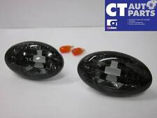 00-02 SUBARU IMPREZA WRX Crystal Smoked Black Side indicators Side markers