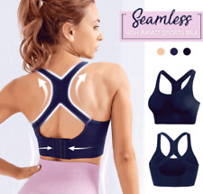 Women Sports Yoga Bra Seamless High Impact Support for Workout Fitness Running