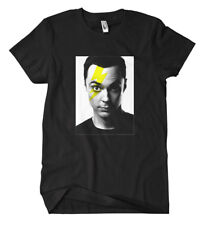 Sheldon Flash T-Shirt  Cooper Big Bang Nerd Bazinga Fun Comic Batman Penny