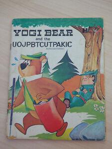 Vintage Yogi Bear and the UOJPBTCUTPAKIC Hanna-Barbera HC 1972