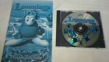 Lemmings Revolution (Pc, 2000) Game Disc & Player's Guide