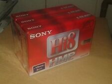 3 x Sony HI 8 HMP Video Kassette 120 Minuten NTSC/ 90 Minuten PAL P6-120HMPL