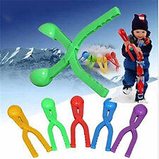 For Fun Kids Toys Sports Snow Scoop Maker Winter Snow Ball Maker Tool Mold