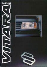 Suzuki Vitara 1.6 Soft Top & Estate 1990-91 Original UK Sales Brochure
