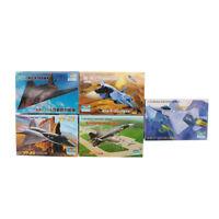 5PCS 1:144 Trumpeter Aircraft Fighter Plastic Military Model Assemble Kit