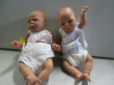 Set of Realistic Twin Rubber Baby Dolls