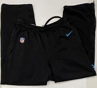 Nike On Field Apparel Men's Carolina Panthers  Dri-Fit Sweatpants Black Size Med