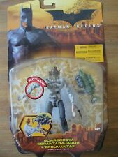 Mattel Dc Batman Begins Scarecrow Figure Brand New