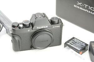 Fujifilm X-T100 24.3MP Spiegellose Digitalkamera, black