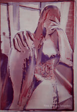 """Todd Walker Photo """"Processed Nude Purple"""" 1978, Photo Litho 455/600"""