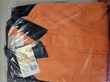 Hard Yakka Orange and Navy Coveralls
