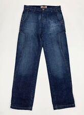 koxo jeans uomo usato cargo denim W32 tg 46 gamba dritta relaxed boyfriend T6220