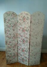 Vintage  Dressing Screen Room Divider  Floral modesty