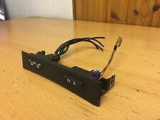 BMW E38 7 series TV Switch & IN AV OUT Outlet Switch w/ panel 8368345 8368346