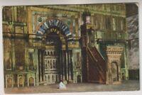 Egypt postcard - Cairo, Interieur de la Mosquee du Sultan Hassan (A16)