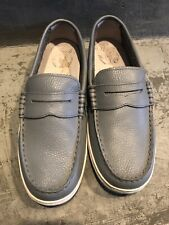 8b70aaef86e Cole Haan Men s Pinch Grey Gray Leather Loafers Size  7.5M Preowned
