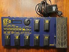 Boss GT-3 Gitarren Multieffektgerät, Pedalboard