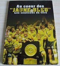 DVD DIGIPACK AU COEUR DES JAUNES ET BLEU LES COULISSES DU TITRE 2010 ASM RUGBY