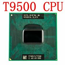 Intel Core 2 Duo T9500 2.6GHz 6MB 800MHz Socket M,P CPU Processor 100% Tested FR