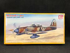 PM Model Bagdad Fury Hawker Sea Fury T-61 1:72 Scale Plastic Model Kit PM-214