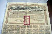 1913 China Government of the Province of  Petchili £20  PASS-CO Lung Tsing bond
