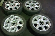 "USED ROVER 75 X 4 17"" METEOR ALLOY WHEELS WITH TYRES (WHEELS NEED REFURBISHMENT)"